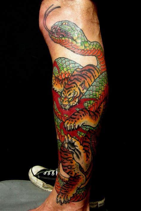 tatouage tigre japonais avant bras