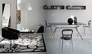 Moderne Wohnzimmer Schwarz Weiss : modernes interieur design im wohnzimmer tolle ideen von calligaris ~ Markanthonyermac.com Haus und Dekorationen