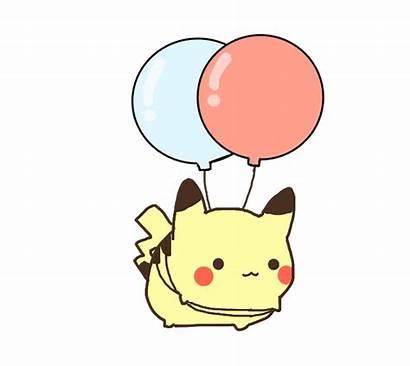 Pokemon Kawaii Pikachu Clipart Transparent Ballon Background