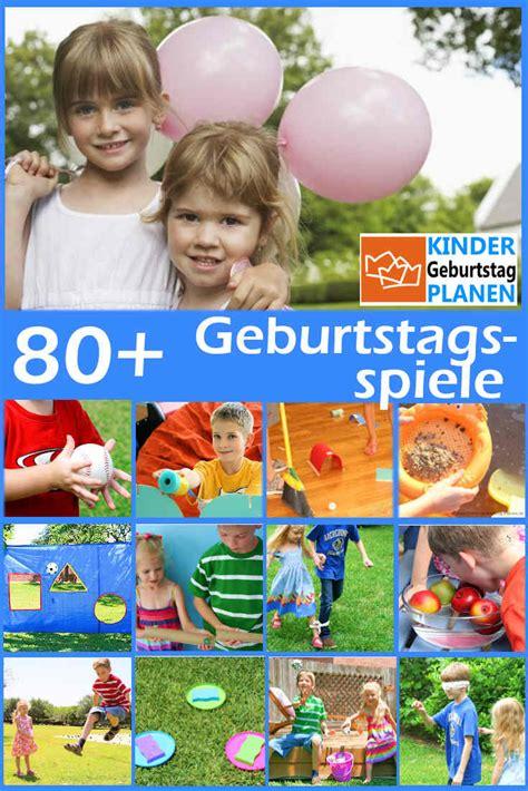 beliebte geburtstagsspiele kindergeburtstag planende