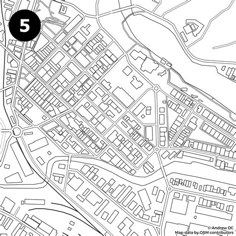 identify  city   blank street map kiwi edition