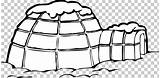 Igloo Clipart Inuit Drawing Coloring Eskimo Snow Clip Boy Webstockreview sketch template