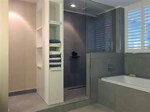 Offene Dusche Gemauert : masterbad g ste wc und duschbad hansen innenarchitektur ~ Markanthonyermac.com Haus und Dekorationen