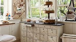 Küche Retro Stil : einrichtungsidee gem tliche k che im vintage look loberon ~ Watch28wear.com Haus und Dekorationen