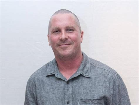 christian bale   unrecognisable  putting