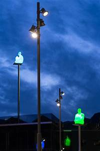 De la vall square andorra spain architectural project for Outdoor lighting companies spain