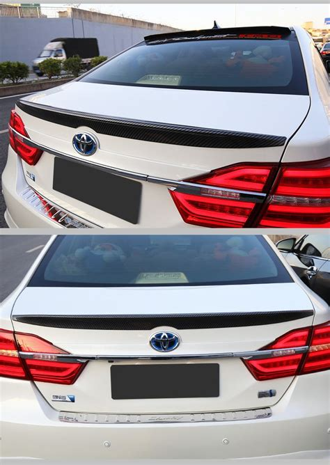Fit for TOYOTA Camry 2012-2016 carbon fiber rear spoiler rear wing | Camry 2012, Toyota camry, Camry