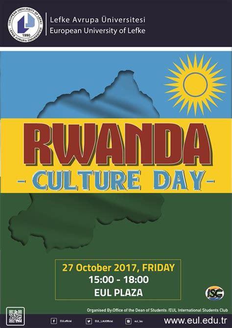 rwanda culture day european university lefke