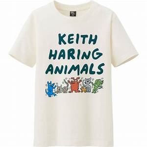 T Shirt Keith Haring : all ut sprz ny graphic t shirt keith haring in beige for men off white lyst ~ Melissatoandfro.com Idées de Décoration