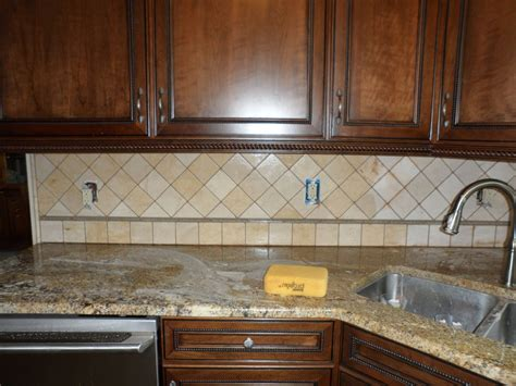 Limestone Backsplash Kitchen by Russo Custom Tile And Westlake Ohio 44145 Glass