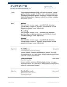 best resume templates 2013 word columns 50 free microsoft word resume templates for download