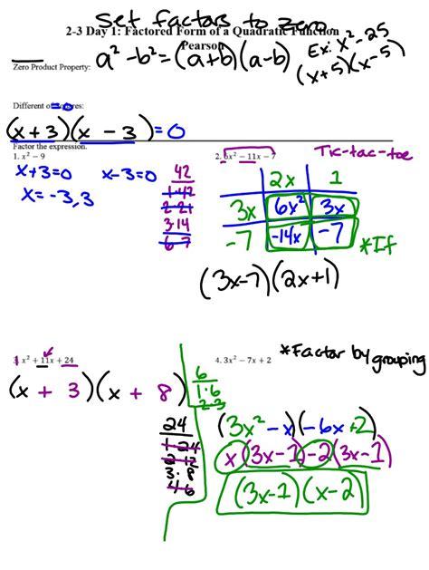 x and y intercepts worksheet day 1 kidz activities