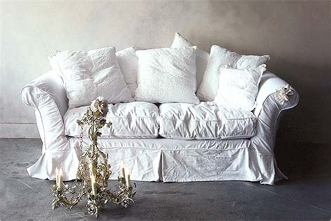 shabby chic sofa slipcover inside out design my next big diy