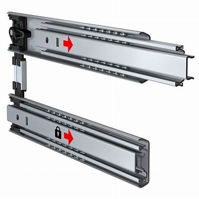 Drawer Systems Telescopic Features Slide Lock Slides