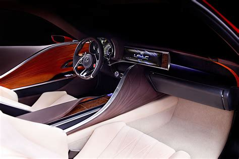lexus lf lc concept interior car body design