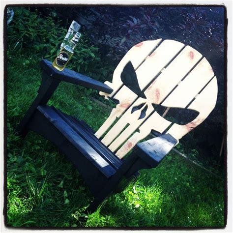 punisher adirondack chair adirondack chairs i made