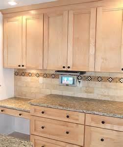 black kitchen island with granite top kitchen tile backsplash remodeling fairfax burke manassas
