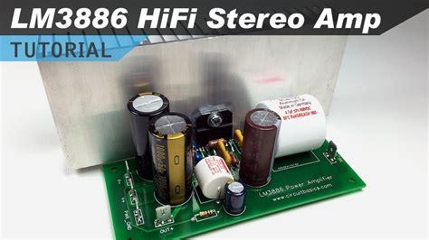 lm  fi audio amplifier design tutorial youtube