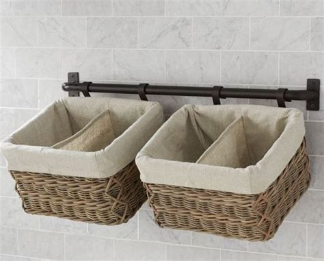 Small Storage Baskets Bathroom by 12 Practical Makeup Storage Ideas For The Stylish