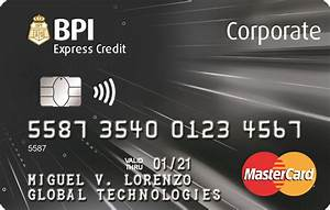 bpi corporate credit card your complete business payment With corporate business credit cards