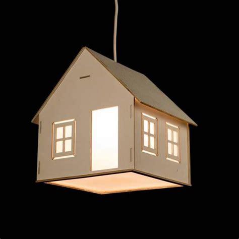 handmade house shaped pendant light gadgetsin