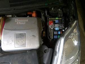 Prius Fuse Box Plate - Doesnt Allow Car To Start
