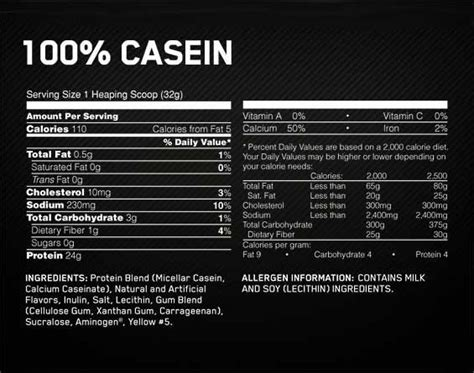 Amazon.com: Optimum Nutrition 100% Casein Protein