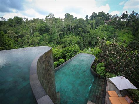 ubud hanging gardens best hotel pools around the world the abroad