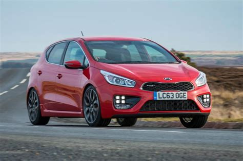 old renault kia ceed gt review and pictures evo