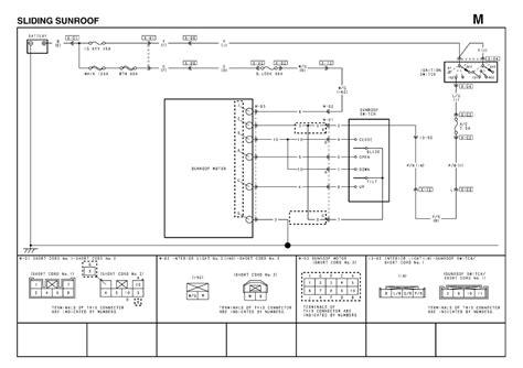 repair guides sunroof motor 2004 sliding sunroof wiring diagram autozone