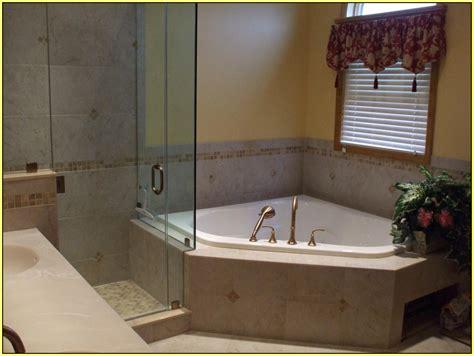 garden tub and shower combo install corner tub shower surround bathtub