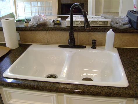 white kitchen sink faucet image gallery white sink