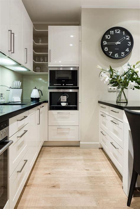 cuisine moderne noir et blanc ophrey com cuisines modernes noir et blanc prélèvement