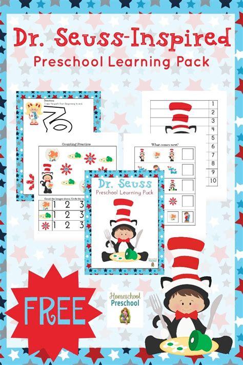 free dr seuss preschool pack free homeschool deals 885 | cap 59