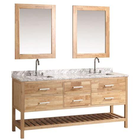 Oak Vanity by Design Element 72 In W X 22 In D Vanity In