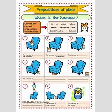 Prepositions Of Place  Esl Worksheets Of The Day  Pinterest  Prepositions, English And Worksheets