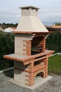 Barbecue En Dur : barbecue en dur r fractaire ce2060g ~ Melissatoandfro.com Idées de Décoration