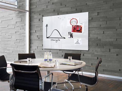 tableau de bureau grand tableau blanc magnétique en verre effaçable et