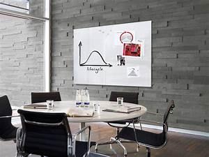 Tableau Aimanté Pour Photos : grand tableau blanc magn tique en verre effa able et ~ Teatrodelosmanantiales.com Idées de Décoration