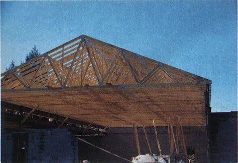 lightweight wood trusses    fire engineering