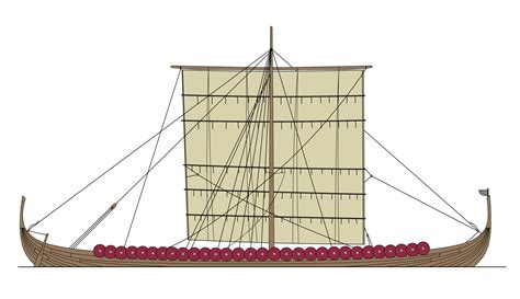 Viking Longboat Description by File Viking Longship Png Wikimedia Commons