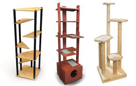 banish the beige carpet check out these cool cat trees catster