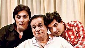 Kader Khan produces a film starring his sons and grandson