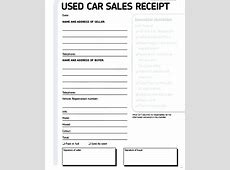 Sale Receipt For Used Car Used Car Sale Private Sale Car