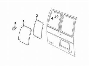 Ford E 350 Rear Door Parts Diagram