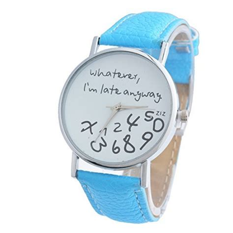Whatever I M Late Anyway Uhr by Souarts A000a52s4 Bei Timestyles Kaufen