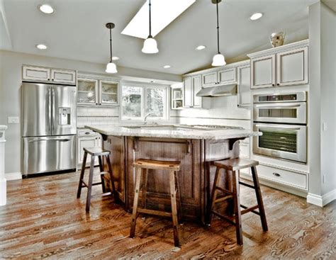 kitchen odd shaped island design pictures remodel decor