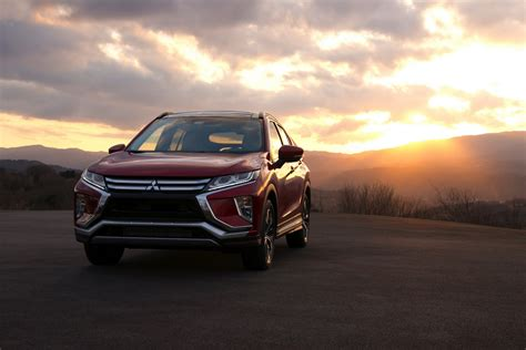 mitsubishi eclipse mitsubishi eclipse cross glistens under total solar