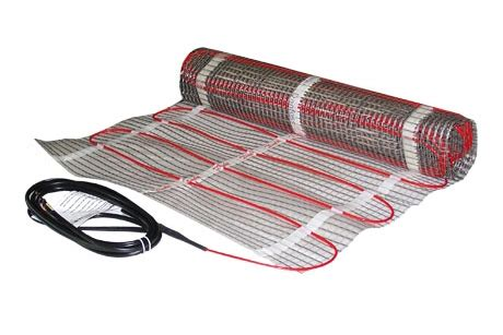 Electric Radiant Heat Mat - radiant floor heating electric vs hydronic jeff king