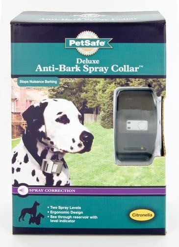 petsafe deluxe anti bark spray collar huntemup